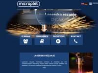 Slika naslovnice sjedišta: Microplet – obrt za izradu alata, preradu plastike i obradu metala (http://microplet.hr)