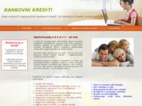 Slika naslovnice sjedišta: Bankovni gotovinski krediti (http://www.krediti.savjeti.biz)