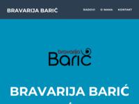 Frontpage screenshot for site: Bravarija Barić (http://bravarija-baric.hr)