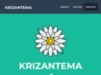 Slika naslovnice sjedišta: Krizantema - Cvjećarnica Slavonski Brod (http://krizantema.hr)
