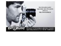 Frontpage screenshot for site: Bratulić svijet digitalne fotografije (http://www.bratulic.hr)