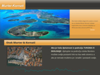 Frontpage screenshot for site: Murter i Kornati smještaj i konoba (http://www.murter-kornati.com.hr)
