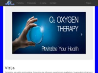 Frontpage screenshot for site: OXY Trade (http://oxytrade.hr)