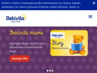 Frontpage screenshot for site: (http://www.bebivita.hr/)