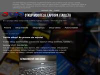 Frontpage screenshot for site: SOS-Otkup ispravnih i neispravnih mobitela, laptopa i tableta - SPLIT (http://sos-otkup.blogspot.hr/)