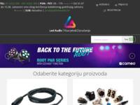 Slika naslovnice sjedišta: LEDaudio d.o.o. - Rasvjeta, razglasi i ozvučenja (http://www.ledaudio.hr)