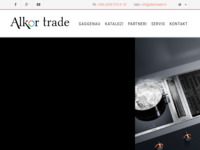 Frontpage screenshot for site: Alkor trade d.o.o. (http://www.alkortrade.hr/)