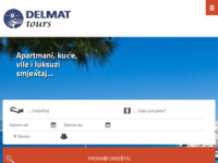 Frontpage screenshot for site: Turistička agencija Delmat Tours d.o.o (http://www.delmat-tours.hr)