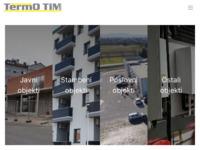 Frontpage screenshot for site: TermoTim d.o.o. (http://www.termotim.hr)
