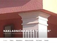 Frontpage screenshot for site: Nakladnička kuća Tonimir (http://www.tonimir.hr)