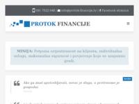 Slika naslovnice sjedišta: Protok financije (http://www.protok-financije.hr)