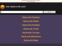 Slika naslovnice sjedišta: Info Dubrovnik (http://www.info-dubrovnik.com/hr/)