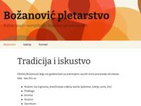 Slika naslovnice sjedišta: Pletarstvo Božanović - ručna izrada namještaja i košarica od vrbove šibe (http://pletarstvo-bozanovic.hr)