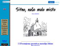 Slika naslovnice sjedišta: Sitno - Croatia (http://www.sitno.4mg.com)