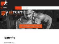 Slika naslovnice sjedišta: Extrifit (http://www.extrifit.hr)