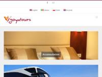 Frontpage screenshot for site: Goyatours, turistička agencija Međugorje (http://goyatours.com/)