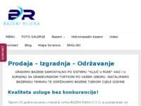 Slika naslovnice sjedišta: Bazeni Rijeka (http://www.bazenirijeka.com/)