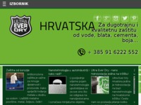 Frontpage screenshot for site: Ultra-Ever Dry Ⓡ Hrvatska (http://www.ultraeverdry-hrvatska.com)