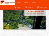 Slika naslovnice sjedišta: Rolete i sjenila Fišter (http://ris-fister.hr)
