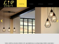 Slika naslovnice sjedišta: Elektro LIP (http://www.elektrolip.hr)