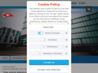 Frontpage screenshot for site: (http://www.infokiosk.hr)