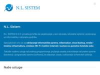 Slika naslovnice sjedišta: N.L. Sistem - održavanje informatičke opreme, mreže i videonadzor (http://nlsistem.com/)
