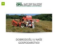 Slika naslovnice sjedišta: OPG Maretić Pazin - Dobrodošli u naše gospodarstvo (http://opg-maretic.hr)