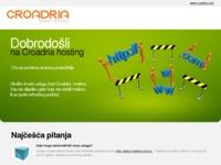 Frontpage screenshot for site: Aria Biro (http://ariabiro.hr/)