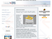 Slika naslovnice sjedišta: design-ERS internet marketing (http://www.design-ers.net/)