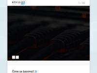 Slika naslovnice sjedišta: Envision Solutions (http://www.envision.hr)