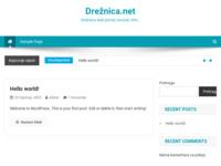 Slika naslovnice sjedišta: Drežnica web portal (http://www.dreznica.net)