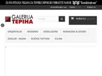 Slika naslovnice sjedišta: Najveća trgovina orijentalnim, unikatnim tepisima (http://www.galerijatepiha.hr)