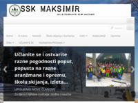 Slika naslovnice sjedišta: Ski & Snowboard klub Maksimir (http://www.sskmaksimir.hr)