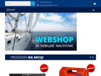 Frontpage screenshot for site: Delani.hr - Nautička oprema i autoprogram (http://delani.hr/)
