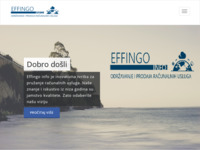 Frontpage screenshot for site: (http://effingoinfo.hr)