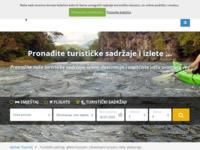 Frontpage screenshot for site: Aktivni turizam (http://aktivniturizam.hr/)