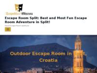 Frontpage screenshot for site: Dubrovnik Escape Room Igre - Respublica Obscura (http://respublicaobscura.com)