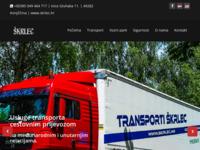 Slika naslovnice sjedišta: Transporti Škrlec (http://www.skrlec.hr)