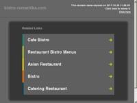 Slika naslovnice sjedišta: Bistro Romantika - dostava i catering (http://bistro-romantika.com/)