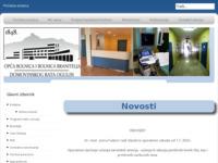 Slika naslovnice sjedišta: Opća bolnica i bolnica branitelja Domovinskog rata Ogulin (http://www.bolnica-ogulin.hr)