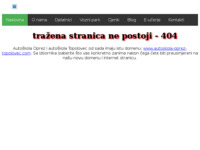 Slika naslovnice sjedišta: Autoškola Oprez (http://www.autoskola-oprez.hr)