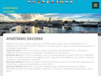 Frontpage screenshot for site: Apartmani Davorka - Fažana (http://www.apartmani-davorka.hr/)