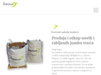 Slika naslovnice sjedišta: Intensa d.o.o. (http://www.intensa.hr/)