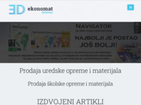 Frontpage screenshot for site: Ekonomat domena d.o.o. (http://ekonomat.hr)