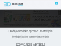 Slika naslovnice sjedišta: Ekonomat domena d.o.o. (http://ekonomat.hr)
