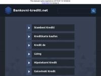 Slika naslovnice sjedišta: Bankovni krediti (http://www.bankovni-krediti.net)
