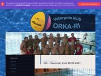 Slika naslovnice sjedišta: Vaterpolo klub ORKA-RI (http://vk-orka-ri.hr)