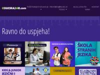 Slika naslovnice sjedišta: EducirajMe - Centar za edukacije i obrazovanje (http://www.educirajme.com/)