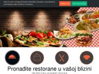 Frontpage screenshot for site: Dostava hrane: jednostavno i brzo online naručivanje jela (http://dostavahrane.com.hr)