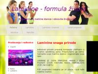 Slika naslovnice sjedišta: Laminine Hrvatska, savjeti, iskustva, naručivanje (http://www.zdravlje.savjeti.biz)